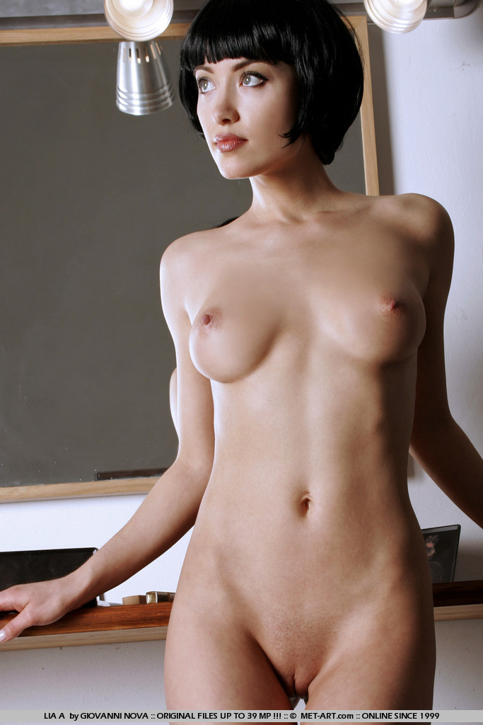 Think, Nude petite auburn haired girl
