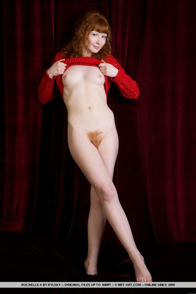 Met art redhead ginger seems magnificent