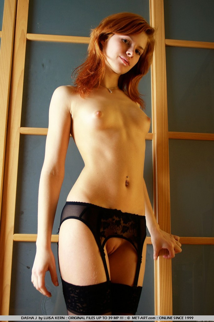 Nude japanese garter belt — 5