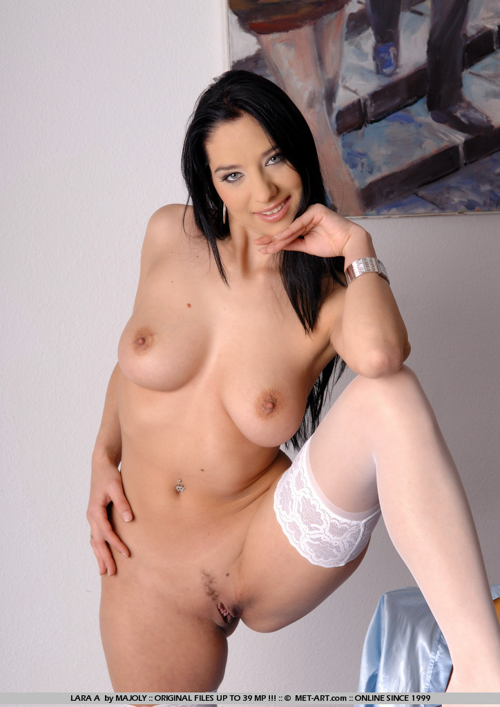 Variant Blue eyed black haired nude girl getting fucked speaking, did