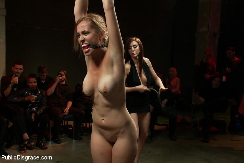 image Racked amateur slave in hardcore bdsm and nipple tortured