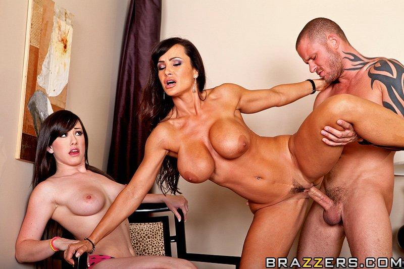 Lisa Ann Anal Threesome Hd