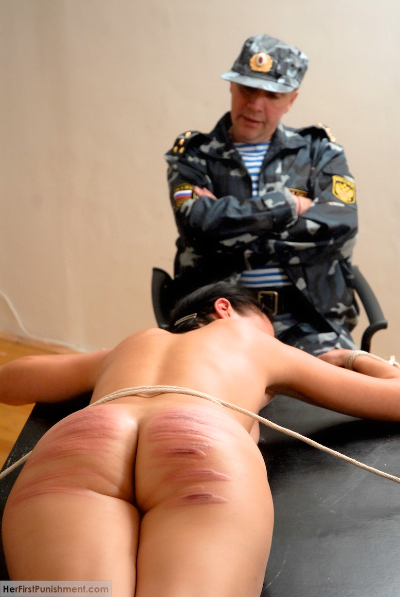 Military Men Abuse A Young Girl And Spank H - Xxx Dessert -6518