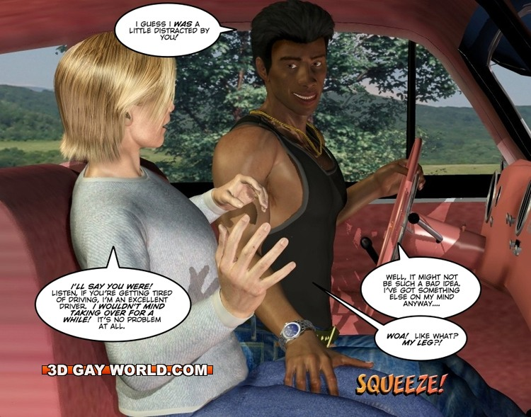 Hitchhiker porn comic share your