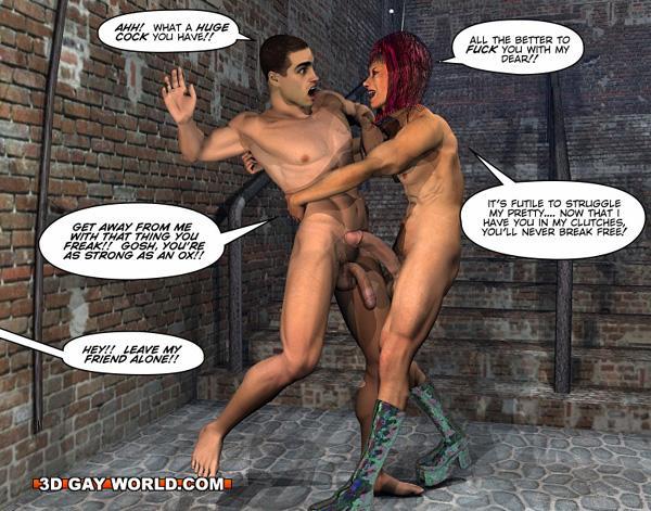 gratis 3D Shemale cartoon pornotubo Pussey