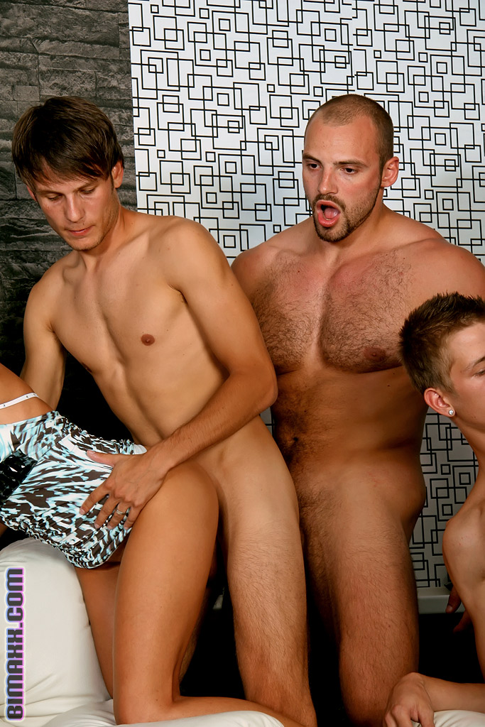 bisexual orgy fucking - On these bisexual orgy party you can fuck w - XXX Dessert - Picture 1