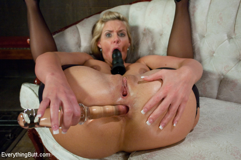 Mature Anal Fingering Solo