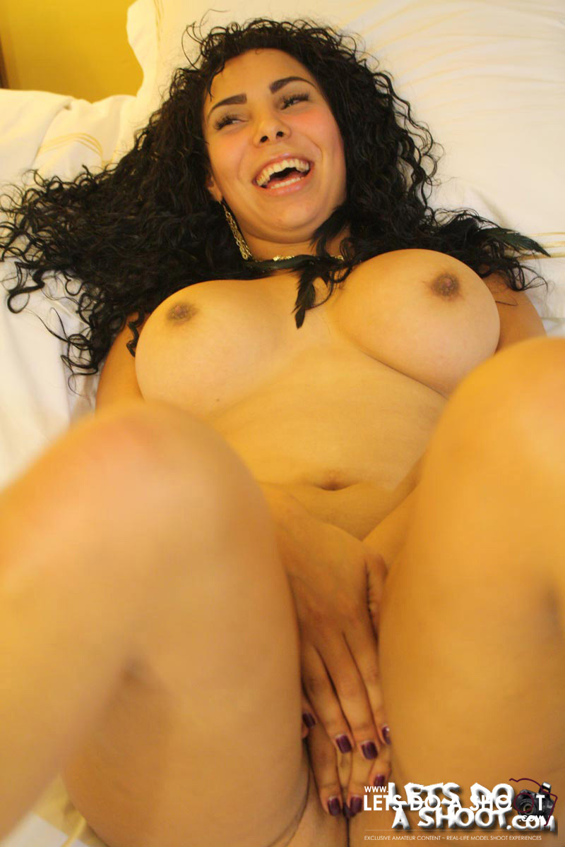Curly Hair Playful Cutie Teasingly Getting - Xxx Dessert -8083