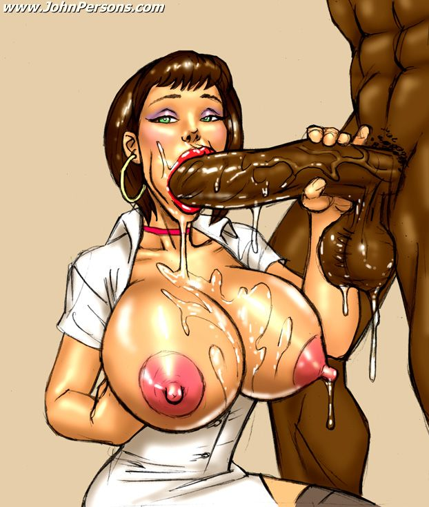 She loves sucking black dick