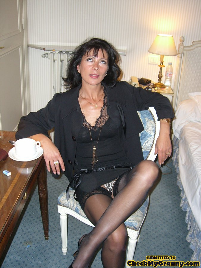 Black Haired Granny Porn