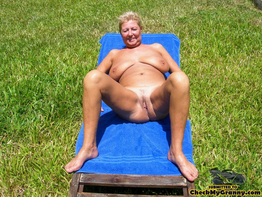 Fat mature on nude beach was and