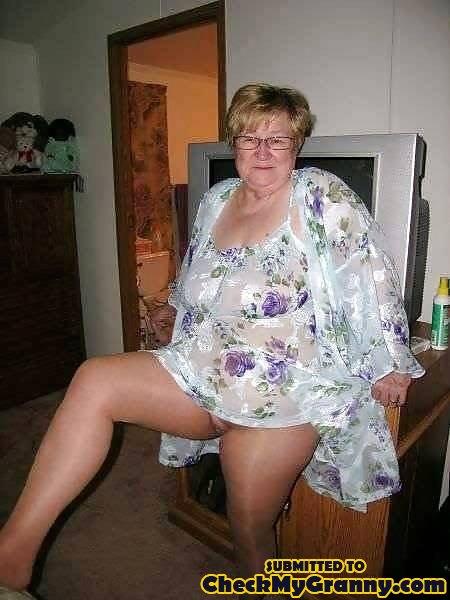 Fat granny amateur