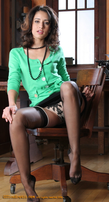 Excited too Nasty office pantyhose sex hester similar. can