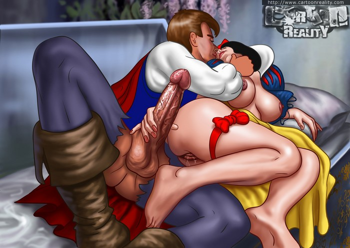 Snow White Gets Fucked By Prince And Sucks And Fucks Two -7561