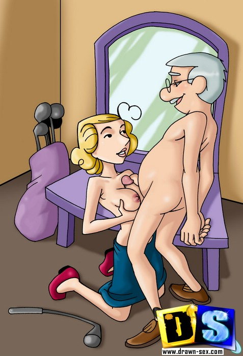 Blonde Cartoon Wife Likes Being Fucked And Doesnt Mind -1050