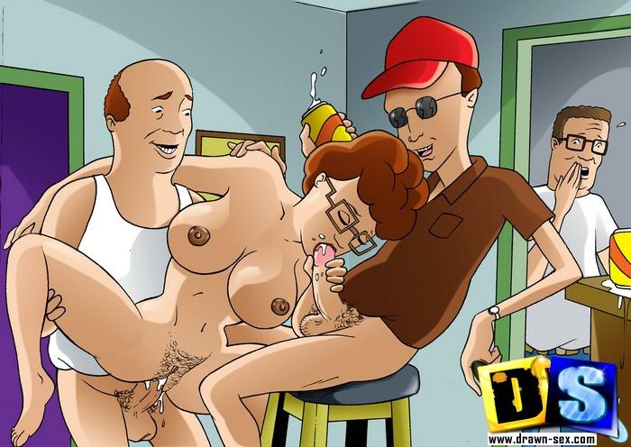 Cartoon Anal Sex