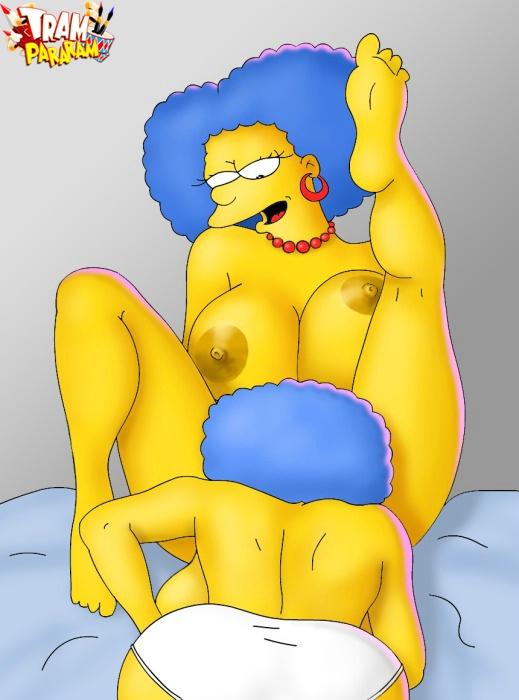 il Simpson lesbica porno