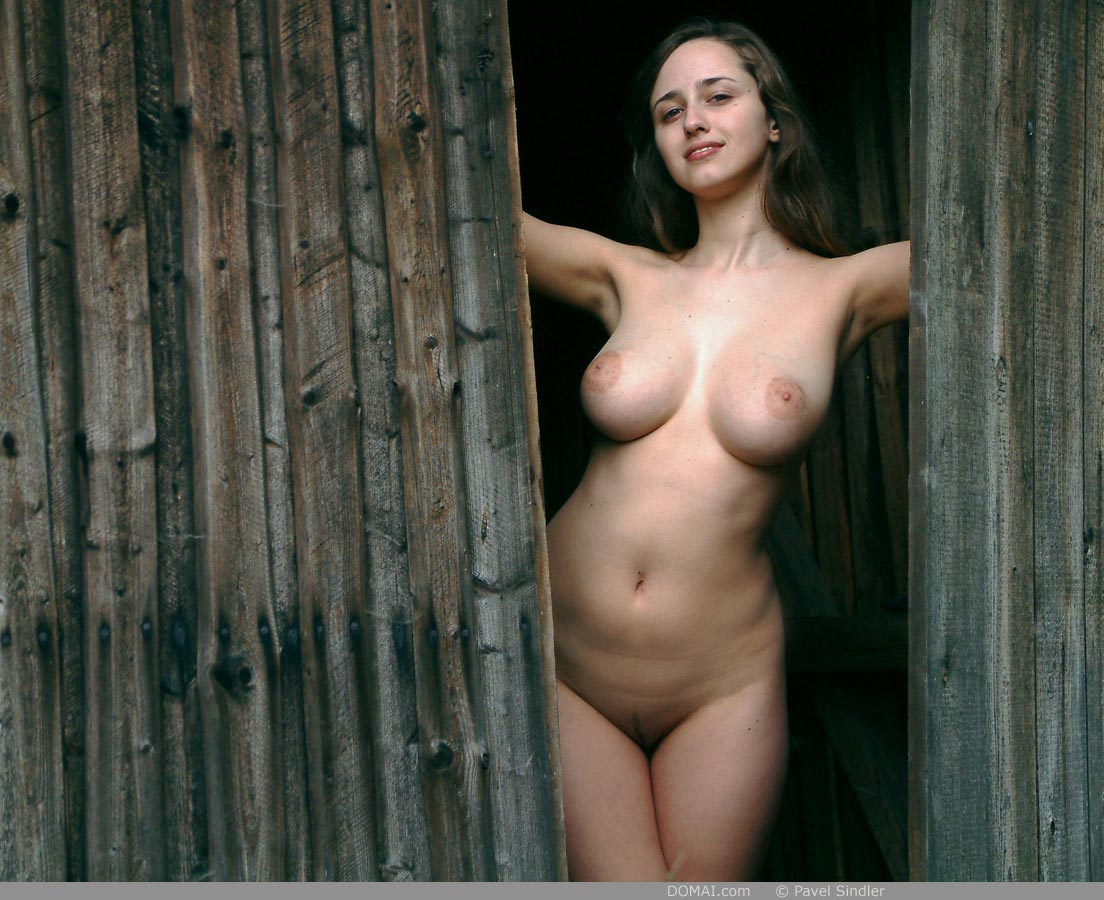 Women long haired nude