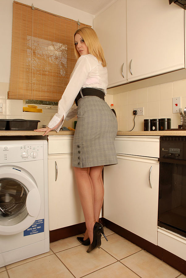 Would you machine blonde milf washing can