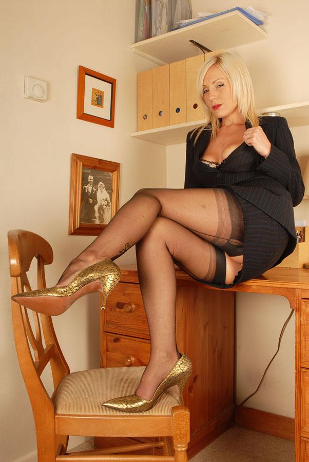 Mature Sexy Heels Lingerie