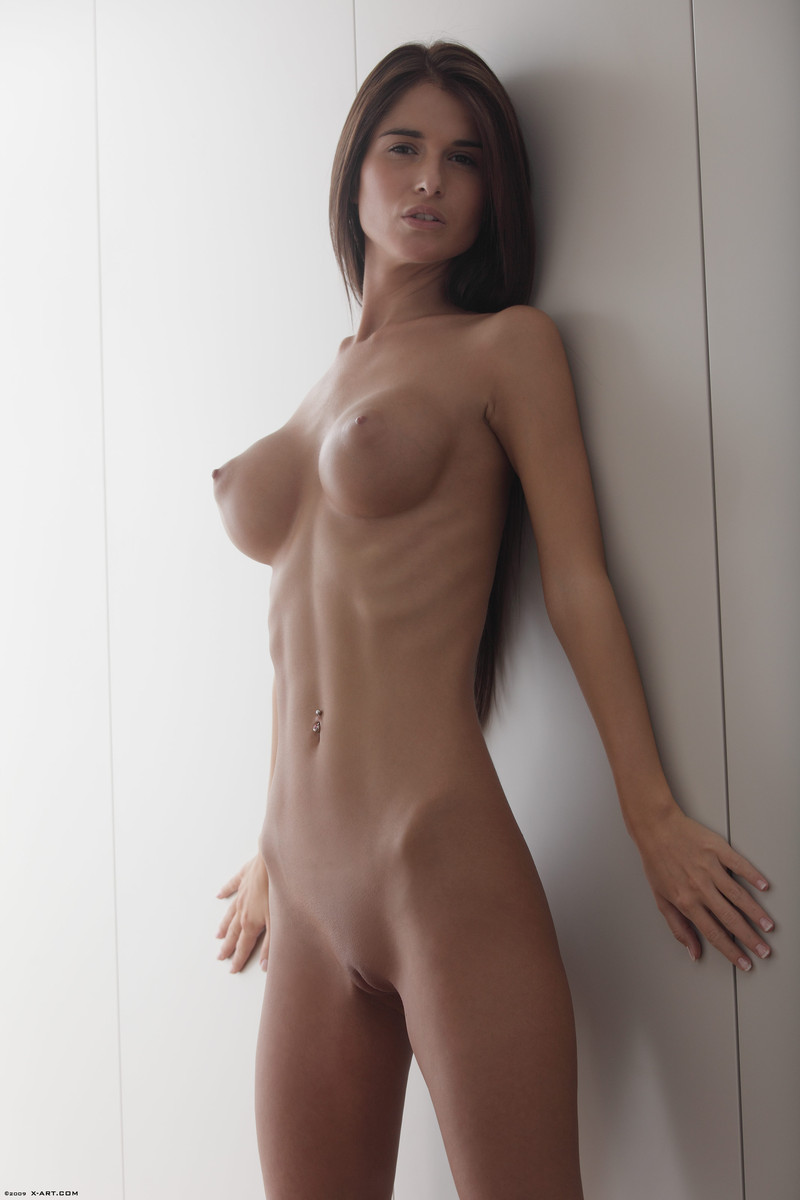 skinny women with big tits nude