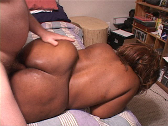 Fat ass ebony mom wants to suck and fuck big black cock