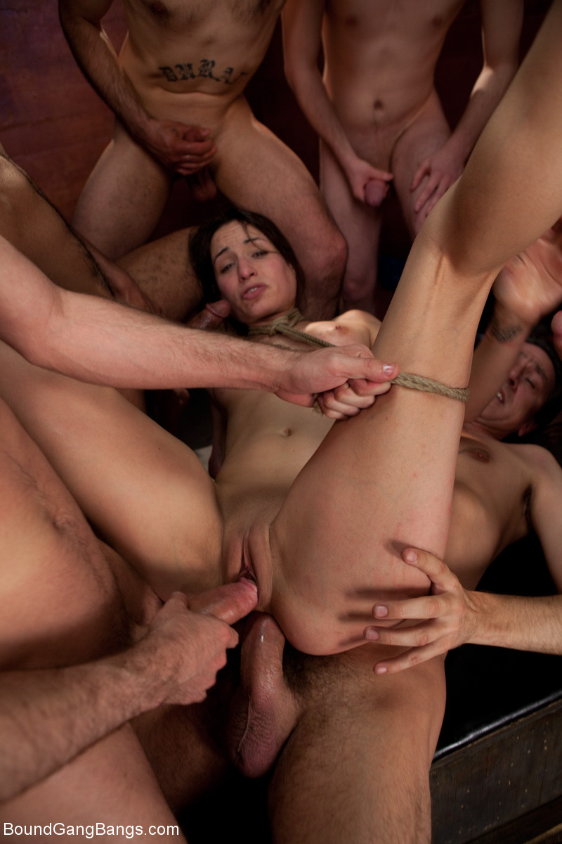 Free guys on girl gang bang-6019