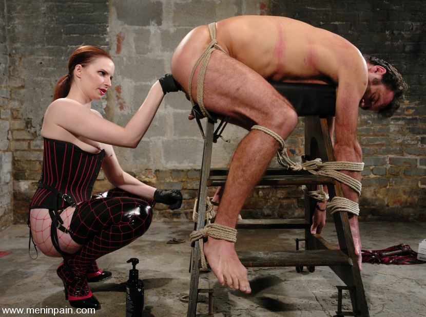 bondage porn Woman guys