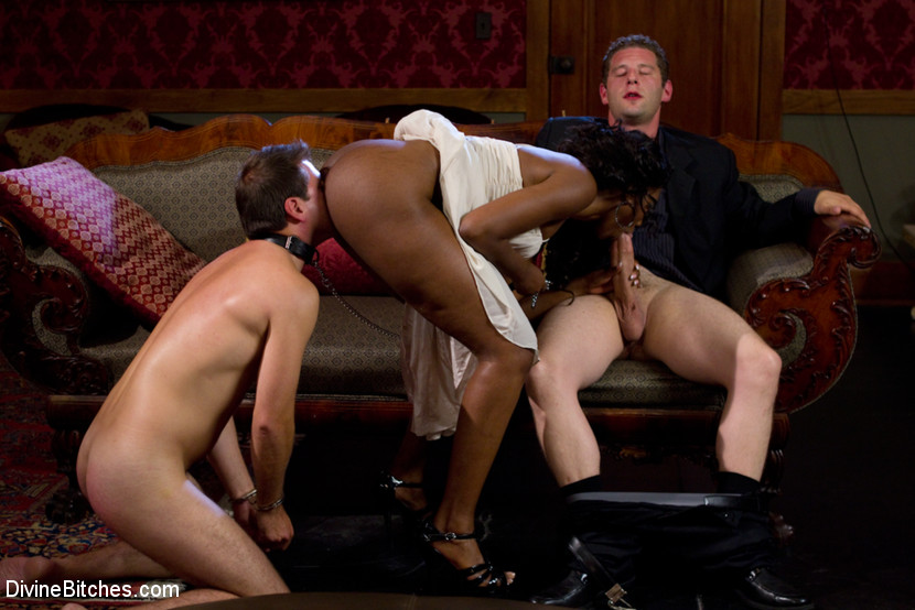 Nyomi Banxxx Rough Anal Sex - Hot mature ebony enjoys some deepthroat and - XXX Dessert ...