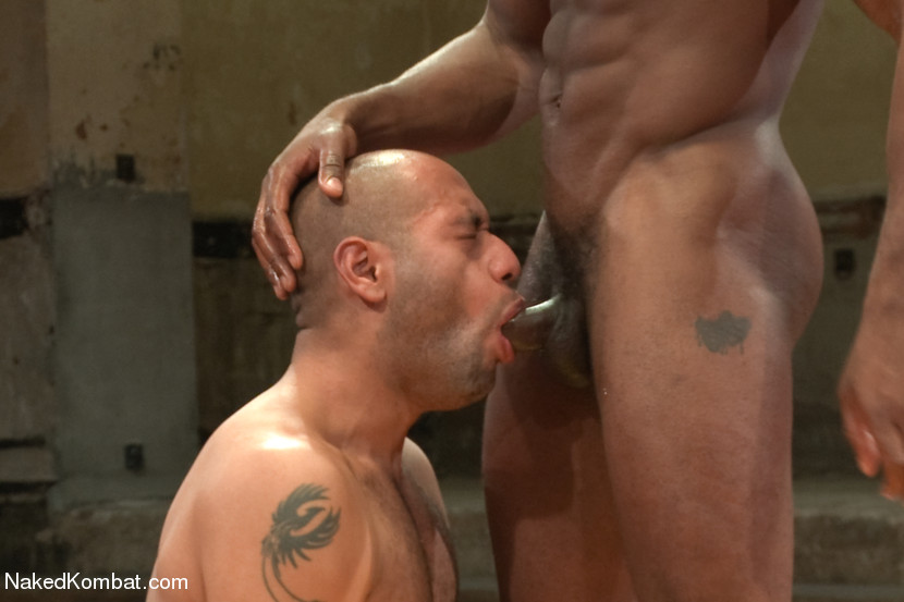 Black Guy Getting Dick Sucked