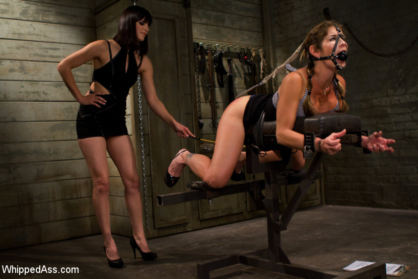 Sexy girls get painfully tied and bent over - XXX Dessert - Picture 2