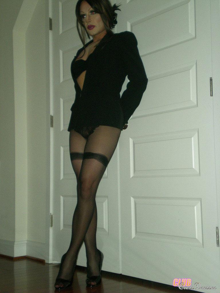 Horny crossdresser pics
