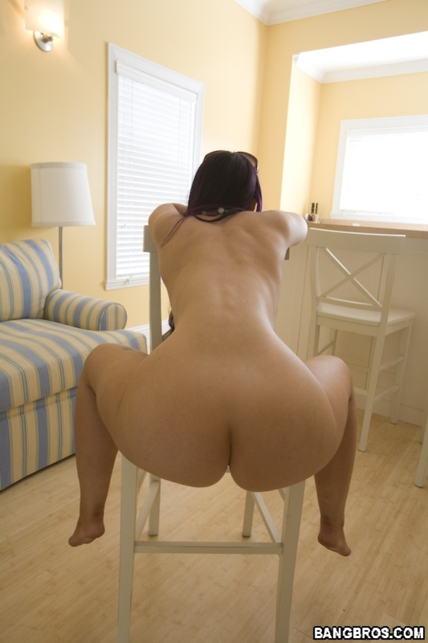 Big butt white girl spreads needs dick in her fat ass 7