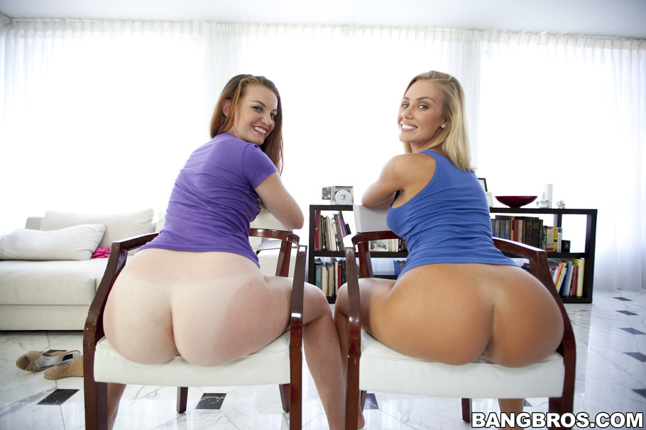 Big ass threesome