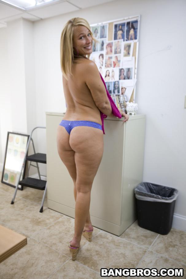 Big beautiful white ass