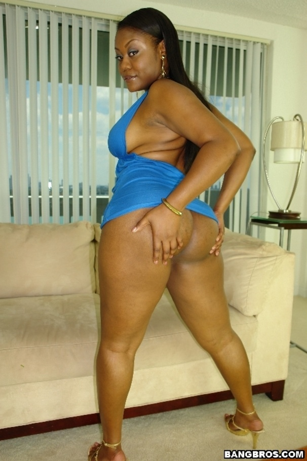 Ebony big ass pornstar