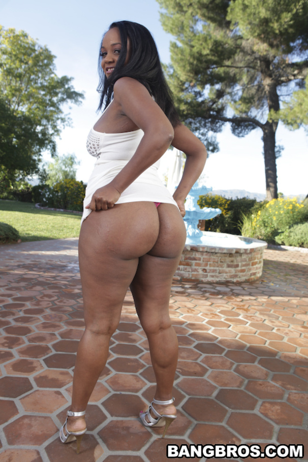 Big ass natural tits ebony pawnshop 6