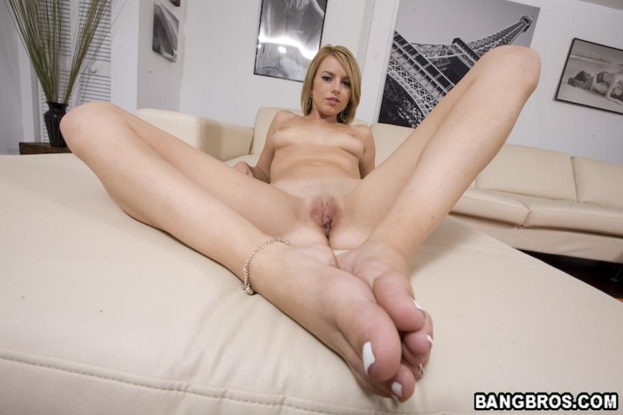 big cock footjob