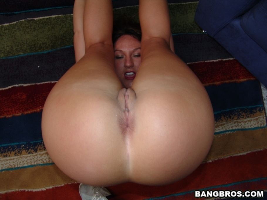 Cum in big ass