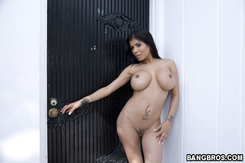 Latina next door neighbor gets unwanted cream pie