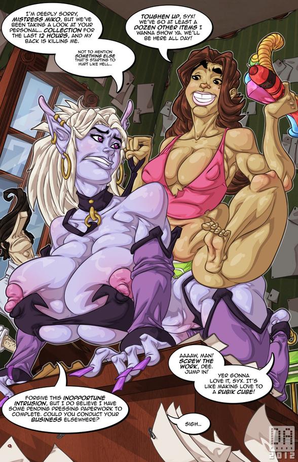 cartoon tentacle porn
