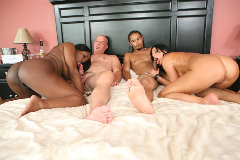 Wife first interacial cock