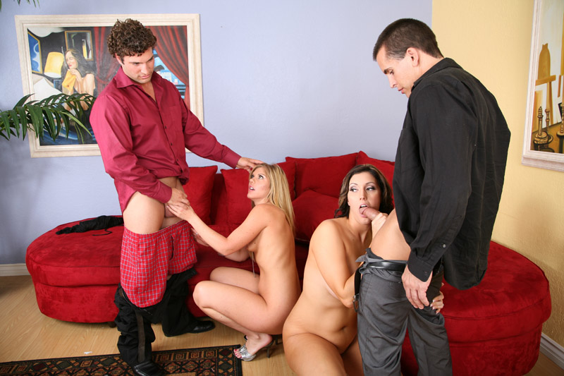 Couples Swap Partners And Big Group Sex