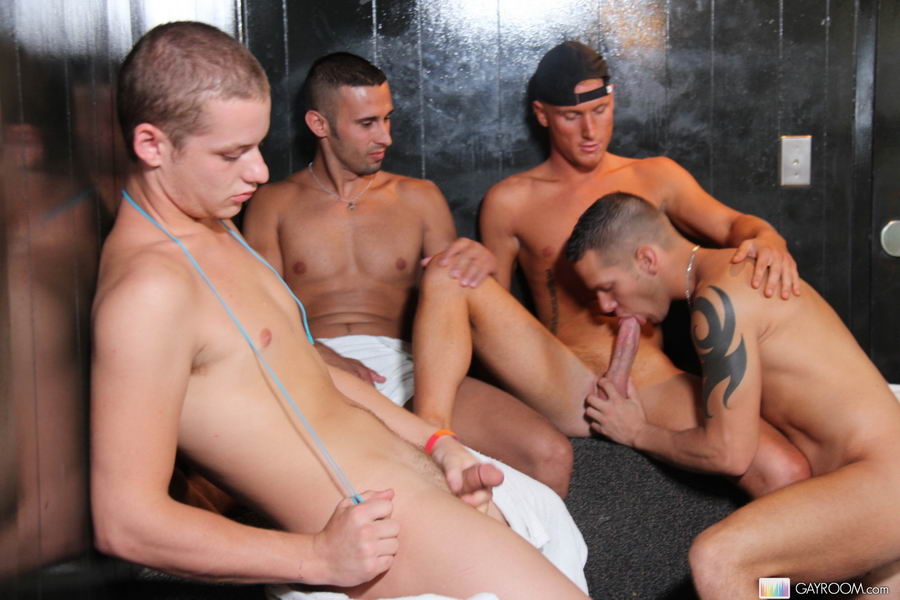 Multiple gay butt fucking and hard cock suc - XXX Dessert - Picture 2