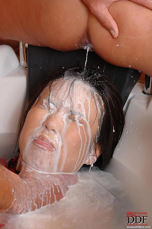 Girl Squirting Guys Face