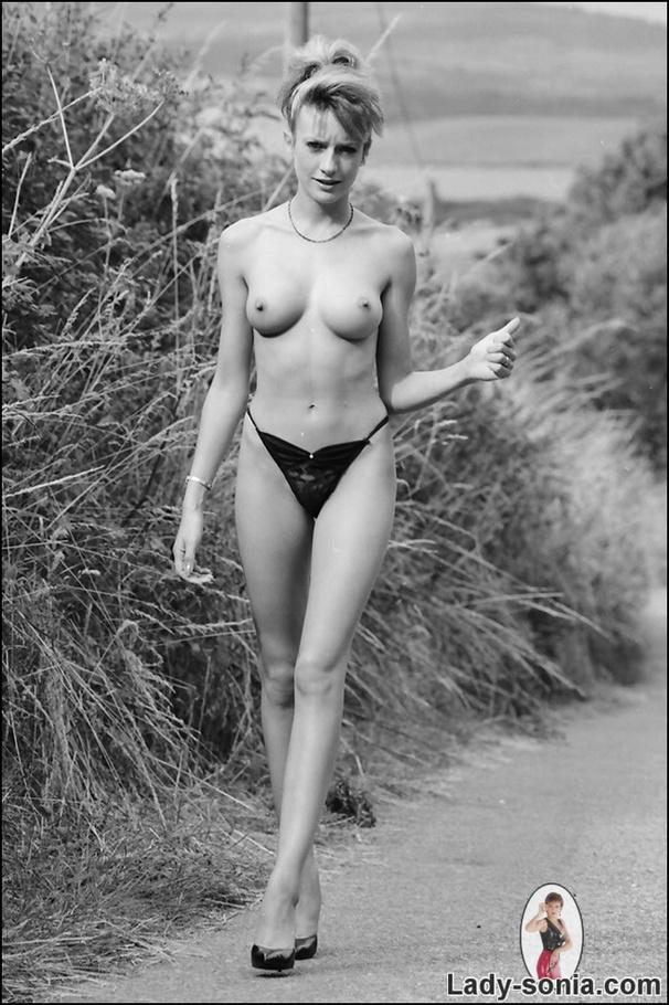 Lady sonia walking