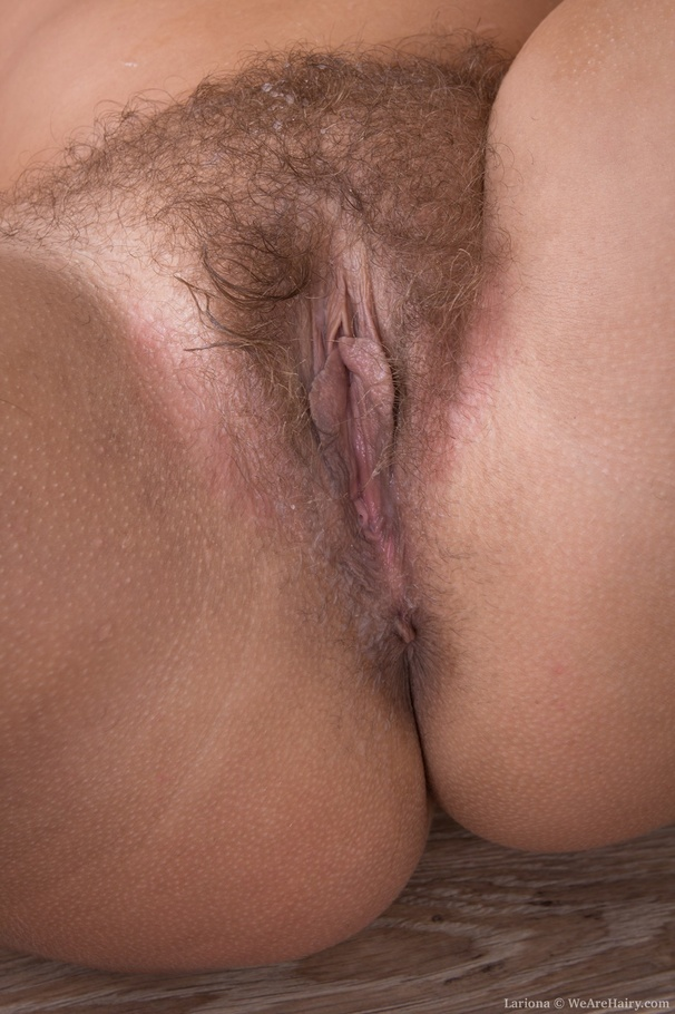 young wet hairy vagina