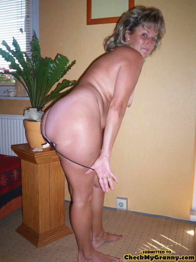 Gorgeous mature ass