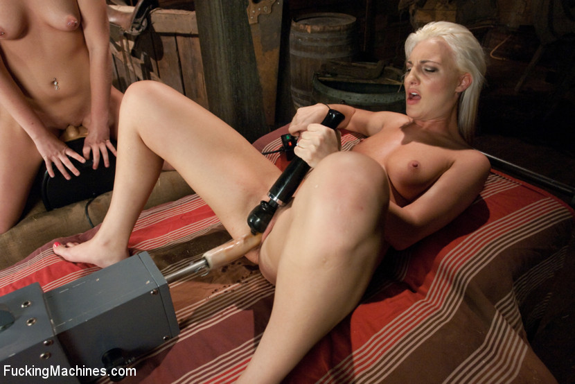Two lesbian sex models drive each other to  - XXX Dessert - Picture 10