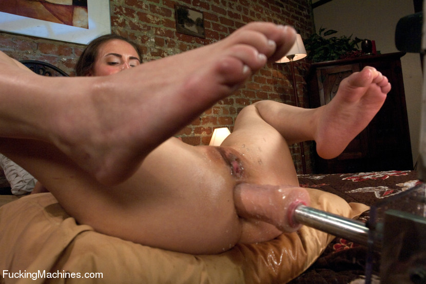 Sex machines fucks cute babe hard and stron - XXX Dessert - Picture 9